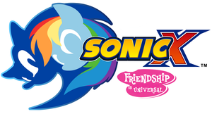 Sonic X: Friendship is Universal logo by bvge