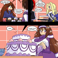 Cake Contest 2013 by Kenj