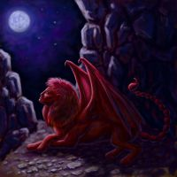 HoMM3 - manticore by A-De