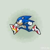 Sonic the Hedgehog by Banzchan