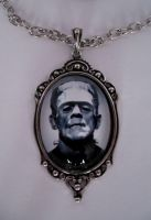 SAMPLE FRANKENSTEIN Necklace by Horribell-Originals