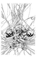 Venom   By Sandoval Art inked!!! by supernoobinks