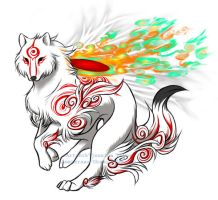 Shiranui_Amaterasu by jessielp89