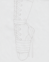 Ballet Boot Study by Raver1357