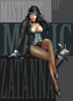 Zatanna- fanart by YamaOrce