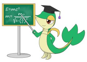 Snivy's Physics Class by asdfg21