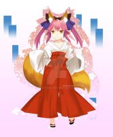 Caster Fate/Extra by dexter64