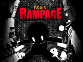 Brain Rampage Poster by SrGrafo