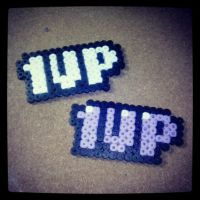 Perler Beads 1UP by lAmikol