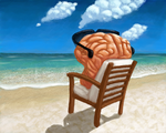 My Brain On Vacation by Agent-Jolliday