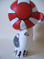 rising sun munny side by jrobbo