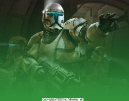 Star Wars Clone Troopers by sssinc