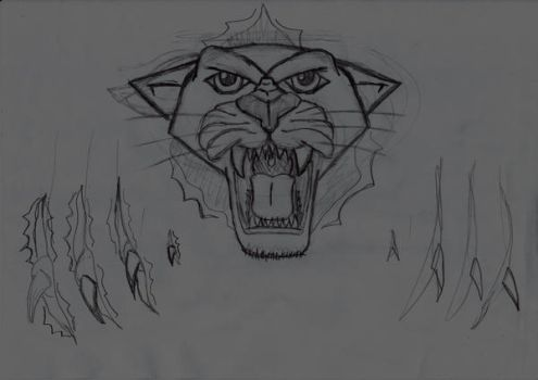 My Back Tattoo Idea 0Panther0 by xMxAxGx