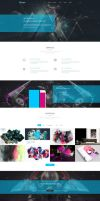 Freebie - Kasper,Creative PSD Template by GraphBerry
