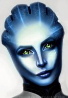 Asari animooted by demidevil13