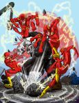 Flash vs Grundy by ArtistAbe