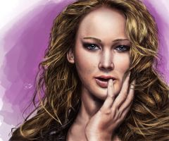 Jennifer Lawrence by tlo001