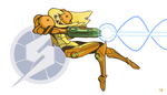 Samus Aran by Daveastation