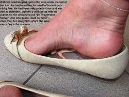 Giantess insole by Simsalabim45
