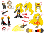 Rune the Hedgehog: Reference Sheet by Chobits13