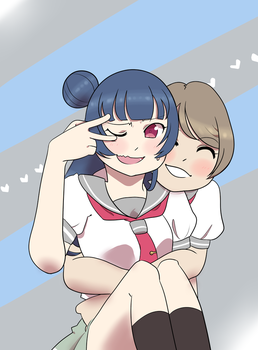 you and yoshiko are so GOOD by BiscuitKruger