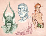 Dagur Doodles by NeonHelical