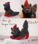 Finished Zorua by Lunekat