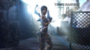 rebooted wallpapers: Tomb Raider 2 by doppeL-zgz