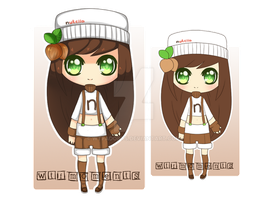 Nutella gijinka adoptable [closed] by WTFadopts