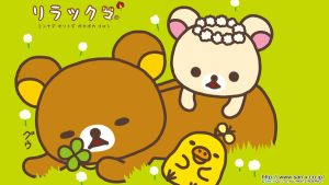 Rilakkuma Widescreen Wall by fham
