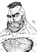 Zangief angry by RafaConte