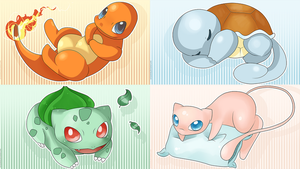 Kanto Cuties by SeviYummy