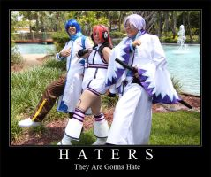 Motivational :: Haters by StarScribbles