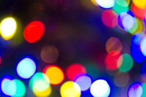 High res Bokeh -- Christmas lights 01 by JL-ArtandStock