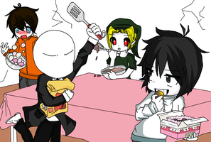 creepy pasta: cooking...with friends...? by yowane-san22