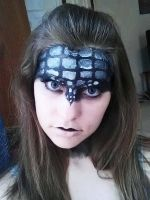 Toothless Makeup First Attempt #1 by TheDreamerWithin616