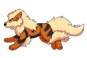 Arcanine : Pokemon Collab by redyoshi77