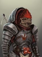 Fantasy Redesigned Krogan - Mass Effect by FonteArt