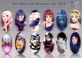 Summary Art -2015- by SouOrtiz