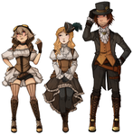 TiH: Steampunk Lineup by iPead