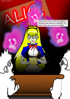 Megaten grownup Alice COLORED by philman401