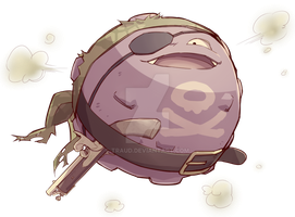 Pirate Koffing by traud