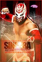 Sincara Artwork - WWE by roXx81