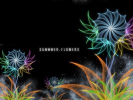 Summer Flowers by aziroth