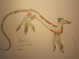 Whiptail Dragon:D by AnnissXD