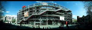 Centre Pompidou by malessere