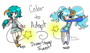 + Coloring Contest - Sunspot Dream Sheep + by Serket-XXI