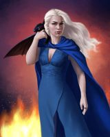 The Mother of Dragons by OffbeatWorlds