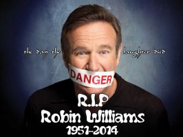 RIP Robin Williams by davidsmiler
