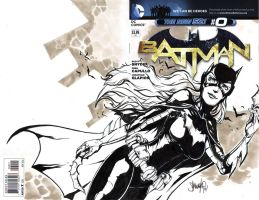 Batgirl Blank Cover by 13wishes